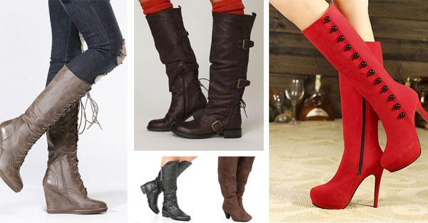 Calf Lenght Boots
